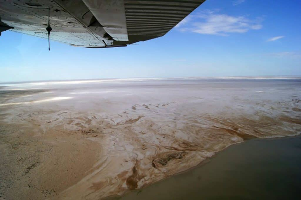 North East Section of Kati-Thanda Lake Eyre North 15 March 2016