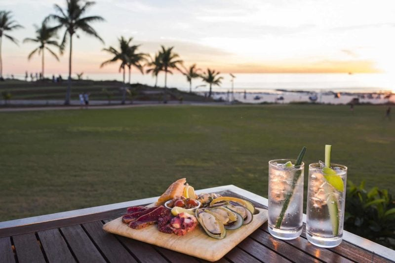 Cable Beach Resort Broome Sunset Bar And Grill Kirkhope Aviation