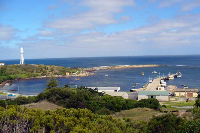 Currie Harbour King Island