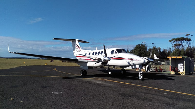 King Air at Lord Howe