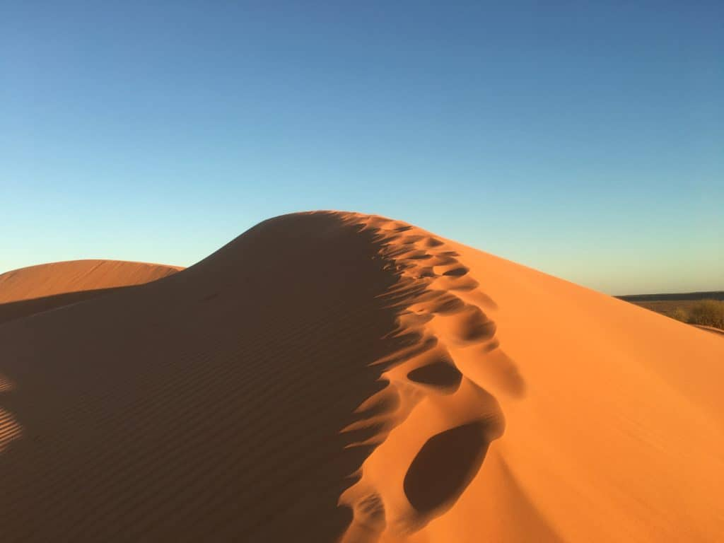 Australian Outback Big Red Sand Dune