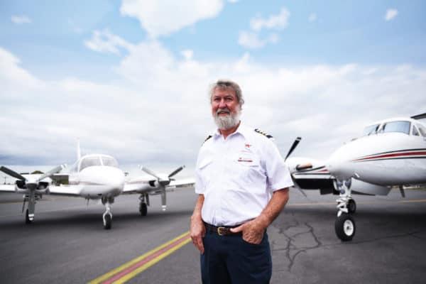 Kirkhope Aviation Pilot Tony Kirkhope