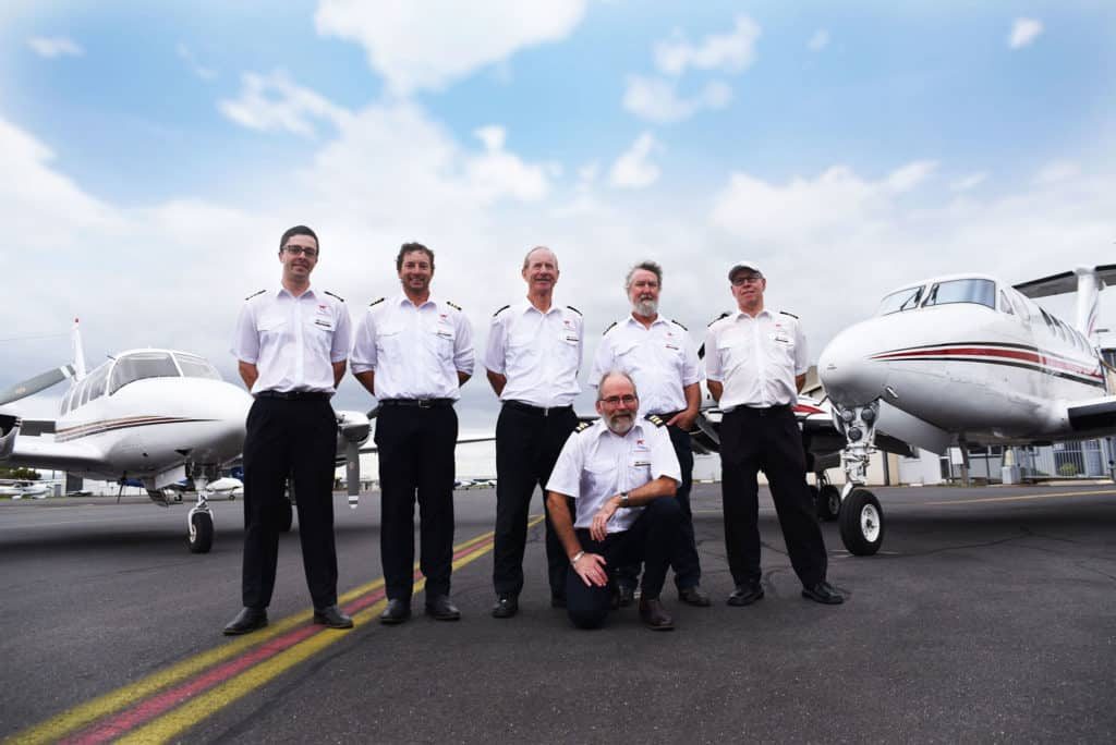Kirkhope Aviation Pilots Team 1