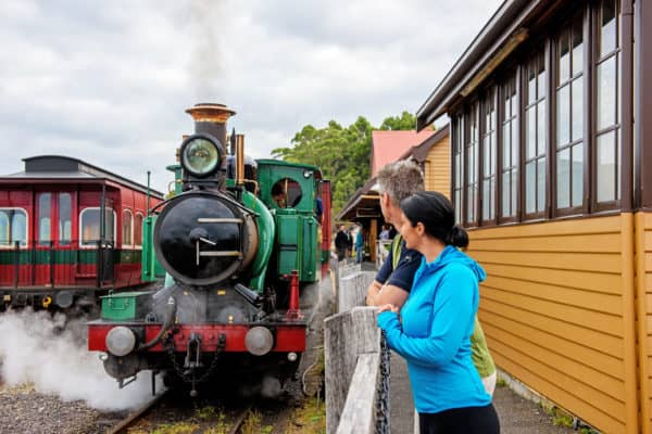 West Coast Wilderness Railway Med Res Kirkhope Aviation Strahan