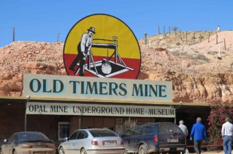 2162 Kirkhope Aviation Old Timers Mine Coober Pedy Kimberley Air Safari