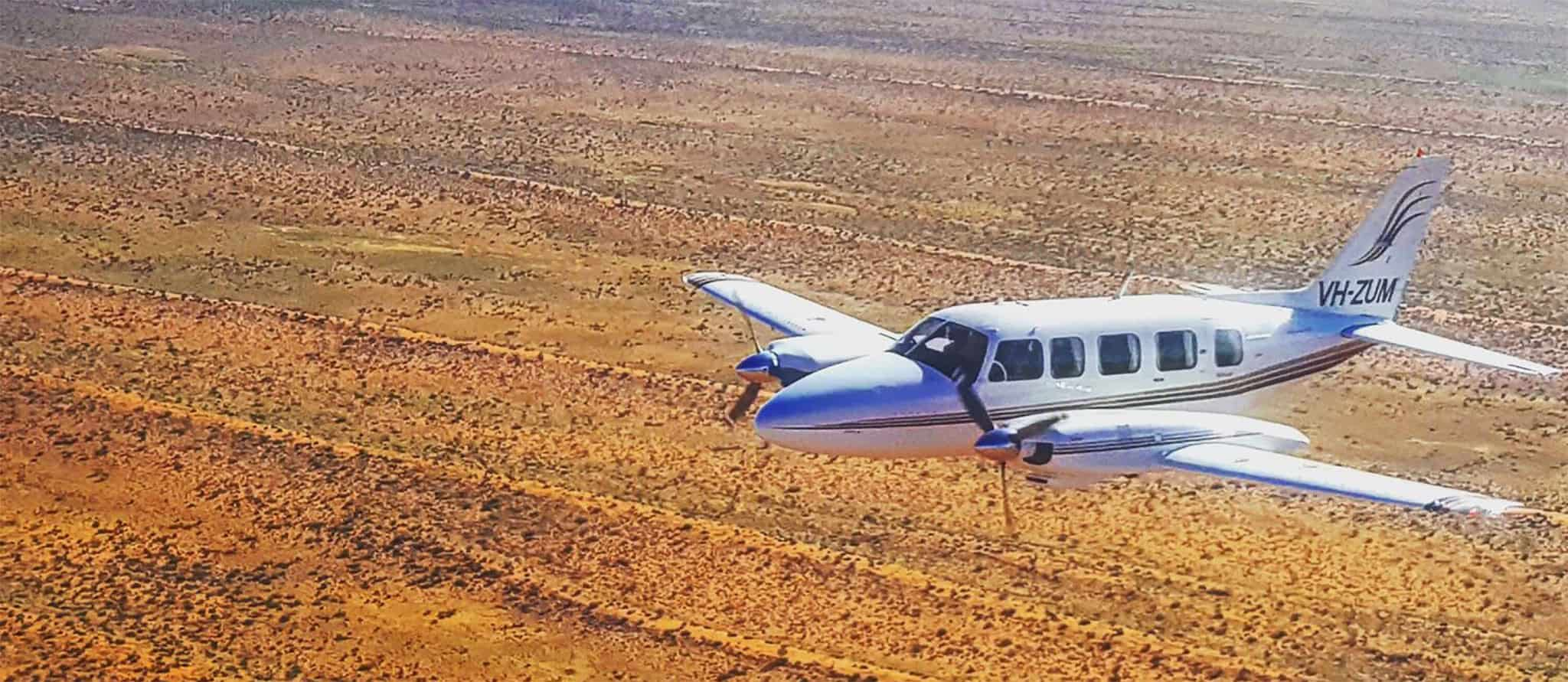 Kirkhope Aviation Chieftain Outback From The Air 6657