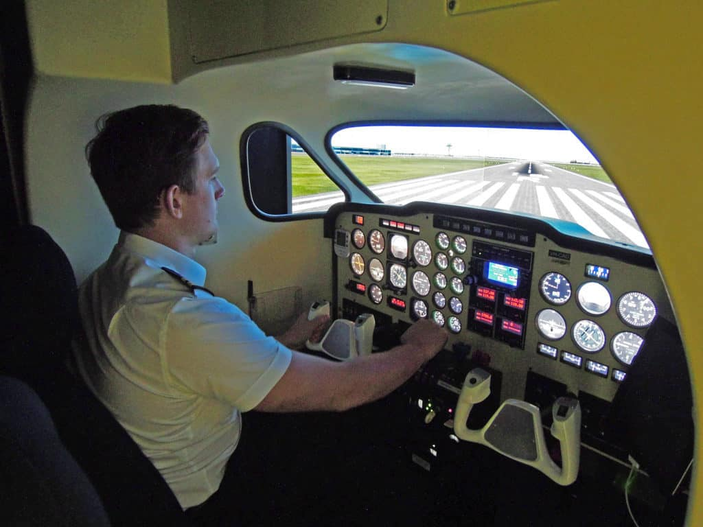 Beechcraft Baron Flight Simulator