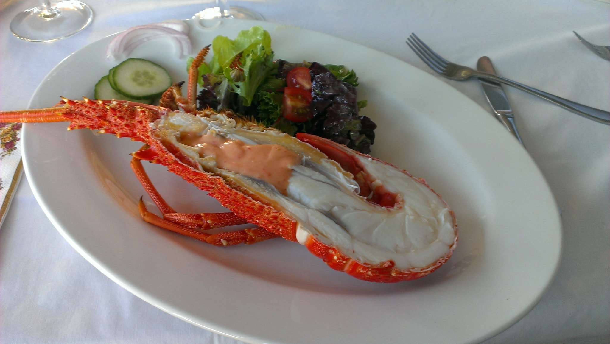 King Island Crayfish Lunch