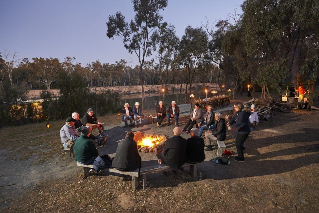 Riverside Campfire Dining Table
