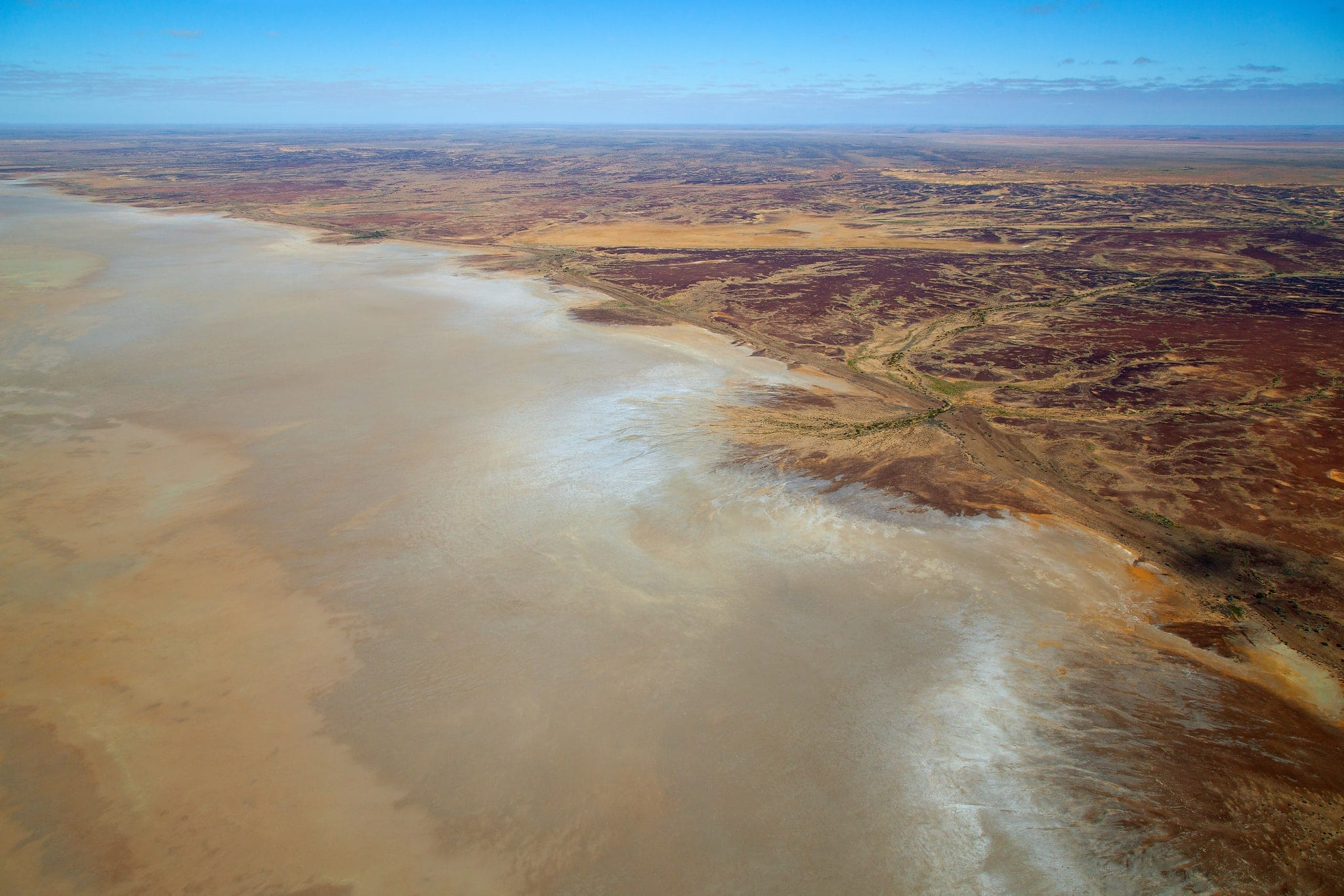 Kati Thanda Lake Eyre National Park Scenic Flight