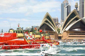 Ferrython, Australia Day In Sydney, Sydney, NSW