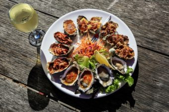 Oysters, Coffin Bay Hotel