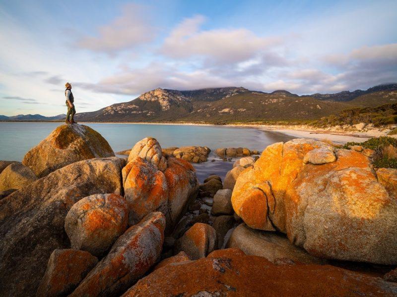 Fotheringate Bay, Flinders Island - photo by Luke Tscharke