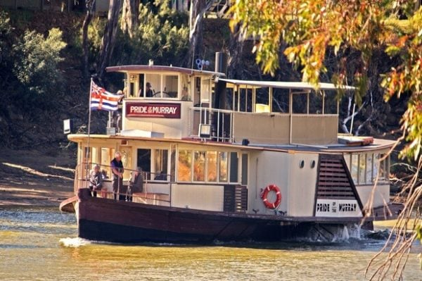 Pride Of The Murray Murray River Paddlesteamers