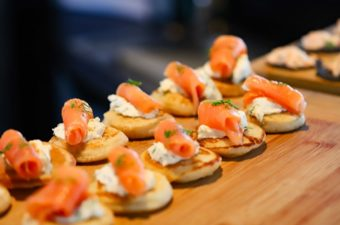 Wineglass Bay Cruises Seafood Canapes.small