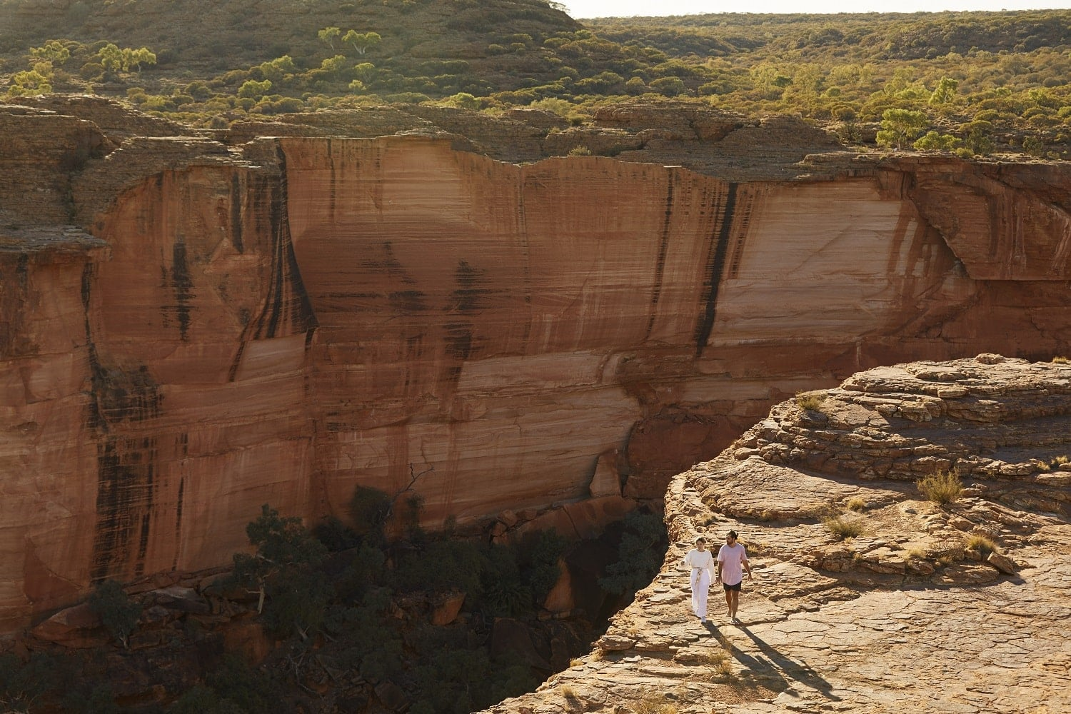 A Couple At Kings Canyon