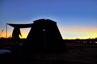 Birdsville Sunrise Rent A Tent