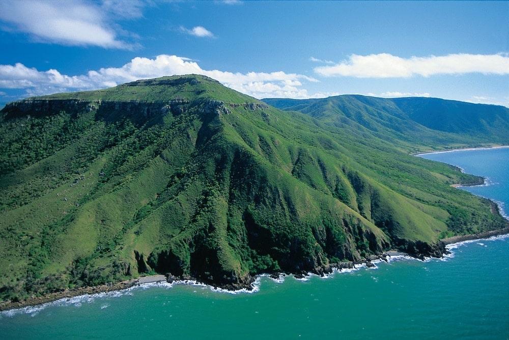 Aerials Of Coastline