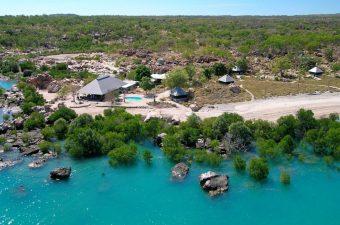 Aerial Kimberley Coastal Camp.small