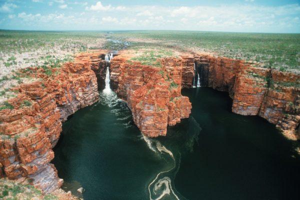 King George Falls, On The North Kimberley Coast