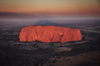 Uluru Helicopter Tour At Sunrise