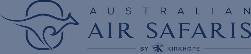 Australian Air Safaris Logo Blue