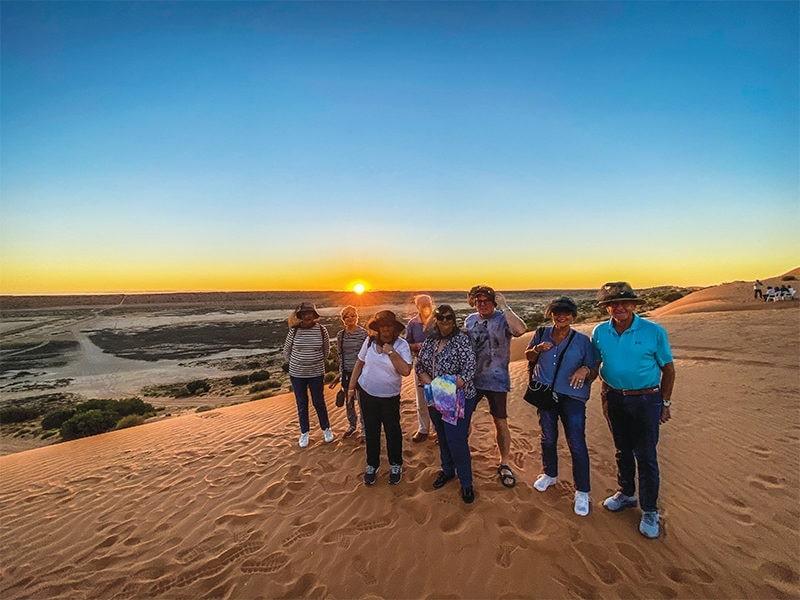 Big Red Simpson Desert