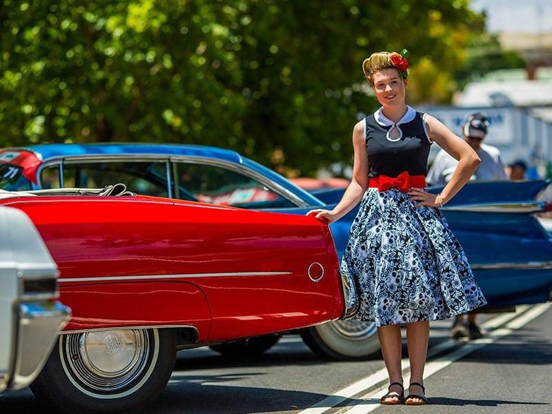 Car Show Parkes Elvis Festival