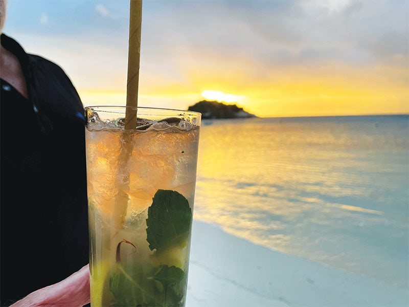 Cocktails Lizard Island CR KA Nick Stobie
