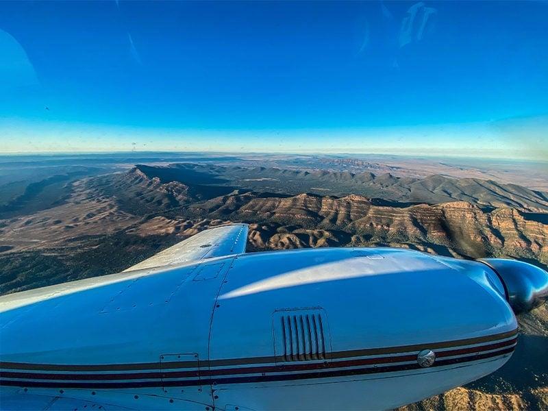Flight Over Wilpena Pound
