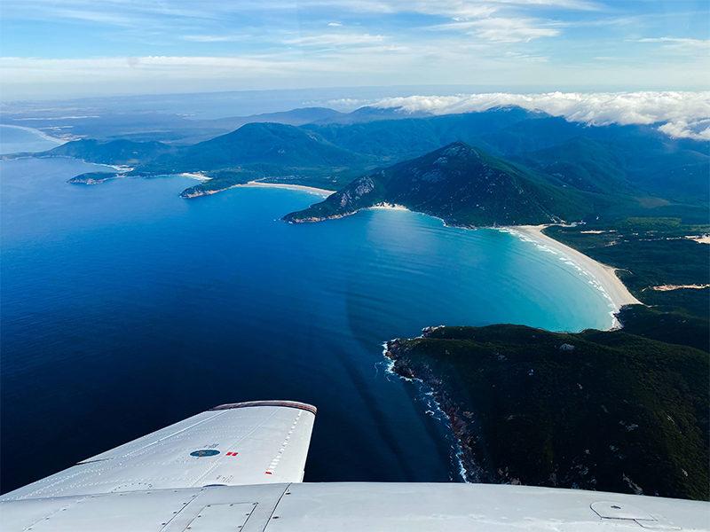 Flight Over Wilsons Promontory