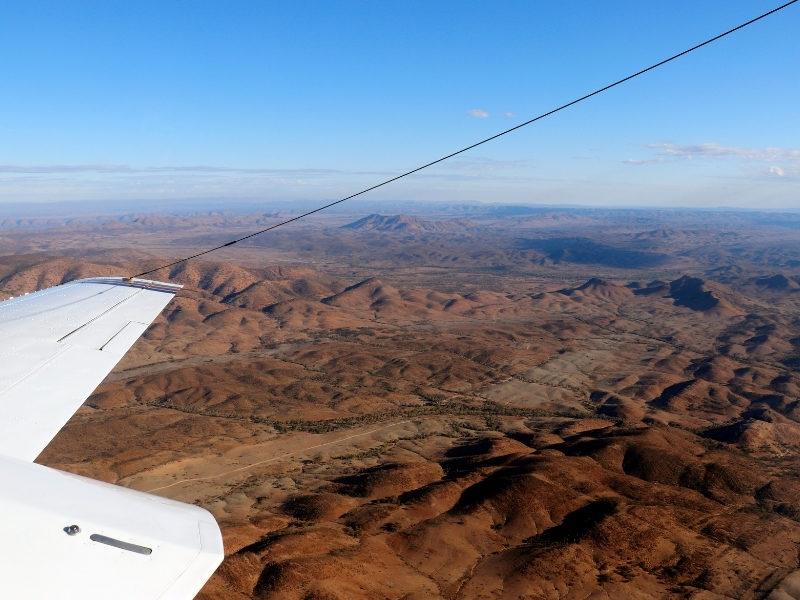 Flying Over Flinders Ranges