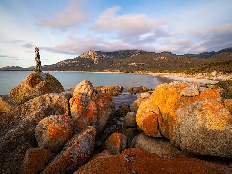 Fotheringate Bay Flinders Island CR Luke Tscharke