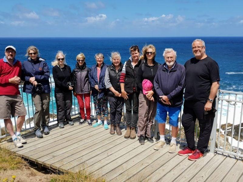 Group At Seal Rocks, King Island KS