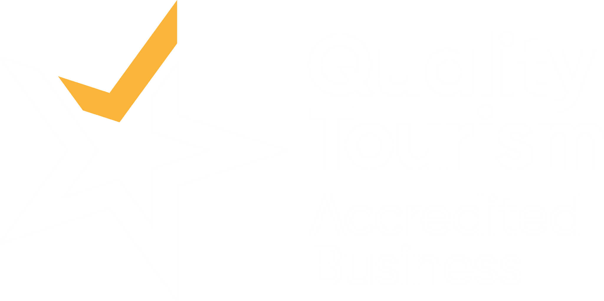 QTAB Logo White Yellow CMYK
