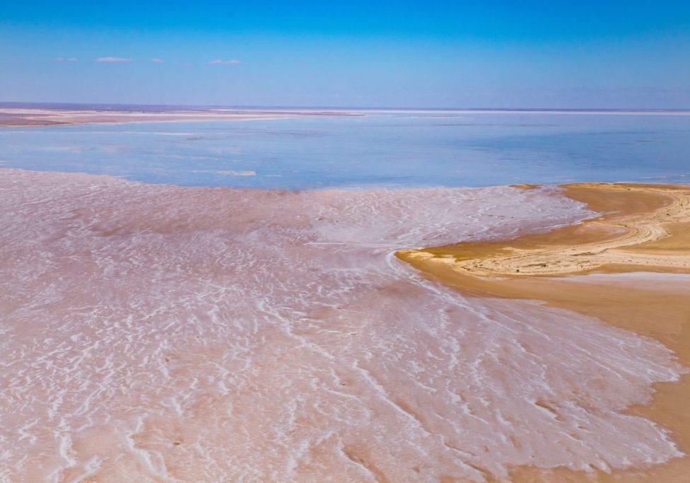 Kati Thanda Lake Eyre National Park Wrightsair Scenic Flight